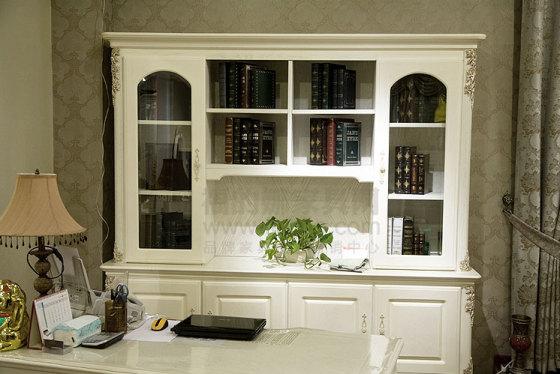 欧式定制书柜2